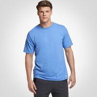 Men's Cotton Performance Tee COLLEGIATE BLUE
