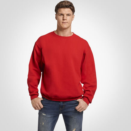 Men's Dri-Power® Fleece Crew Sweatshirt TRUE RED