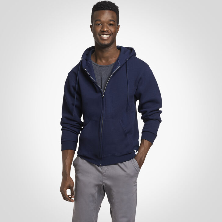 Men's Dri-Power® Fleece Full-Zip Hoodie NAVY