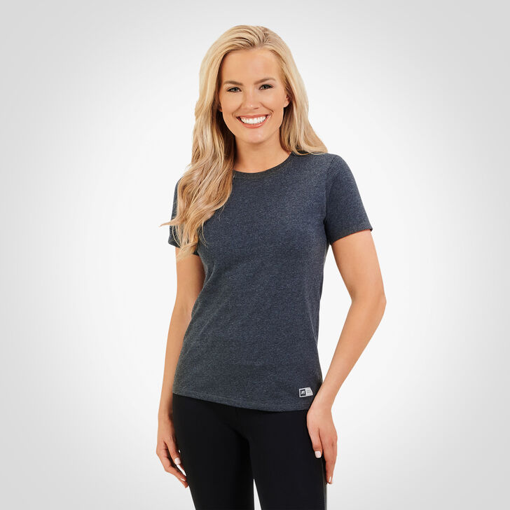 Women's Essential Tee BLACK HEATHER