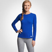 Women's Cotton Performance Long Sleeve T-Shirt ROYAL