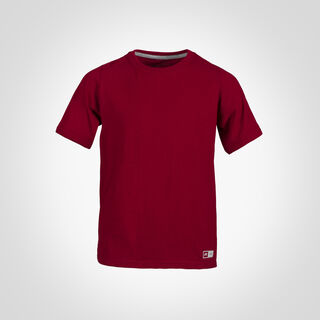 Youth Cotton Performance T-Shirt CARDINAL