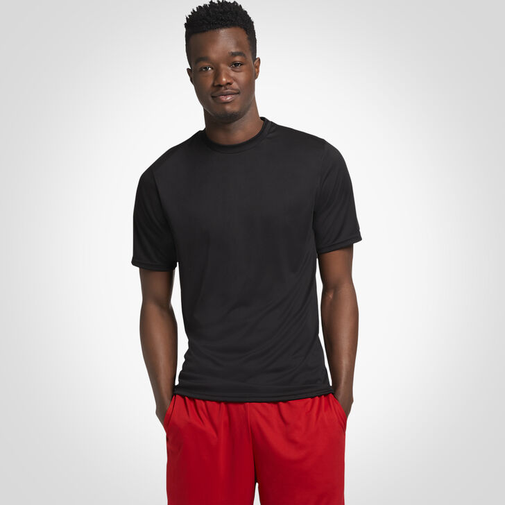 Men's Dri-Power® Performance T-Shirt BLACK