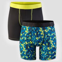 Men's Performance Underwear CUBIT STACK/ BLACK