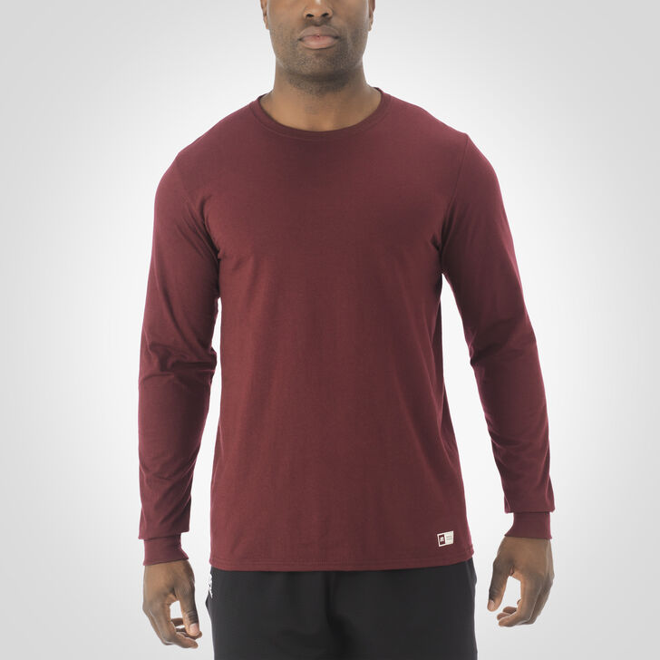 Men's Essential Long Sleeve Tee MAROON