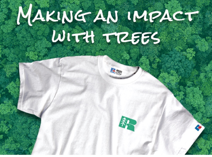 Earth Day X Russell Athletic