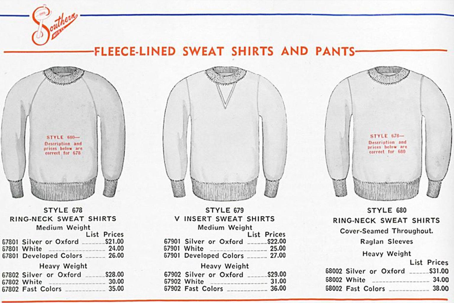 V-notch Russell Athletic Sweatshirt