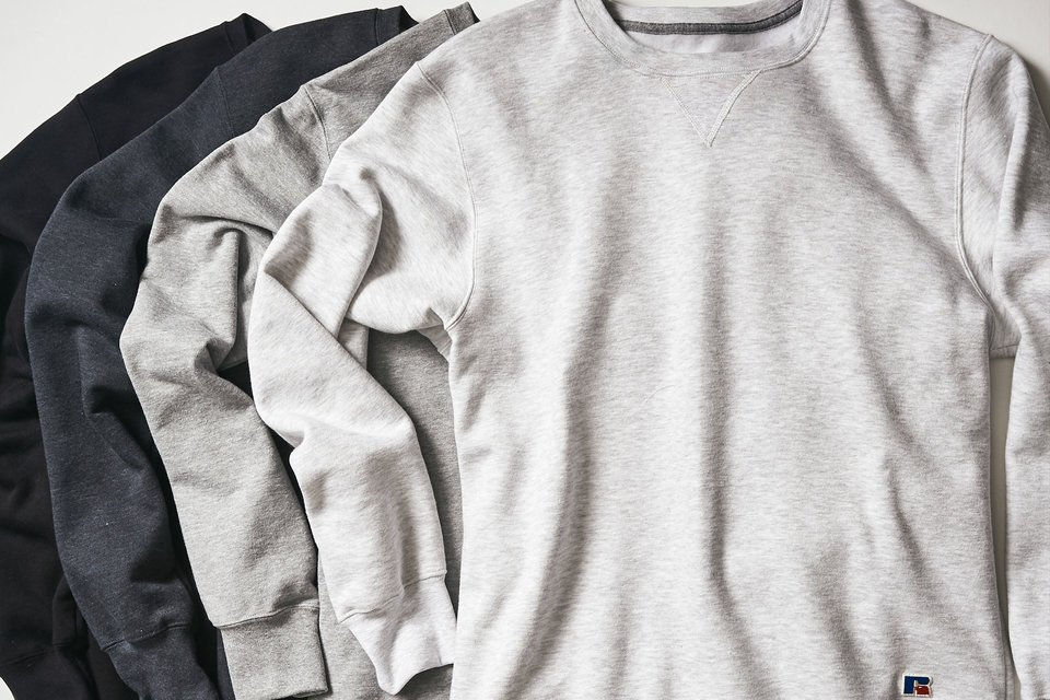 Russell Athletic sweatshirts.